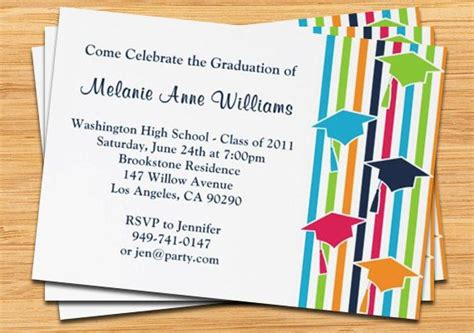 invitation cards templates for graduation best layout graduation invitation card sle