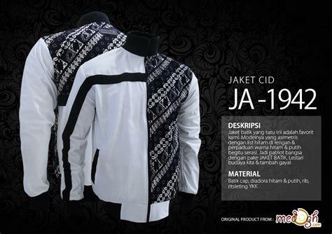 Batik Asimetris Series asimetris black and white pada patriot series jaket cid