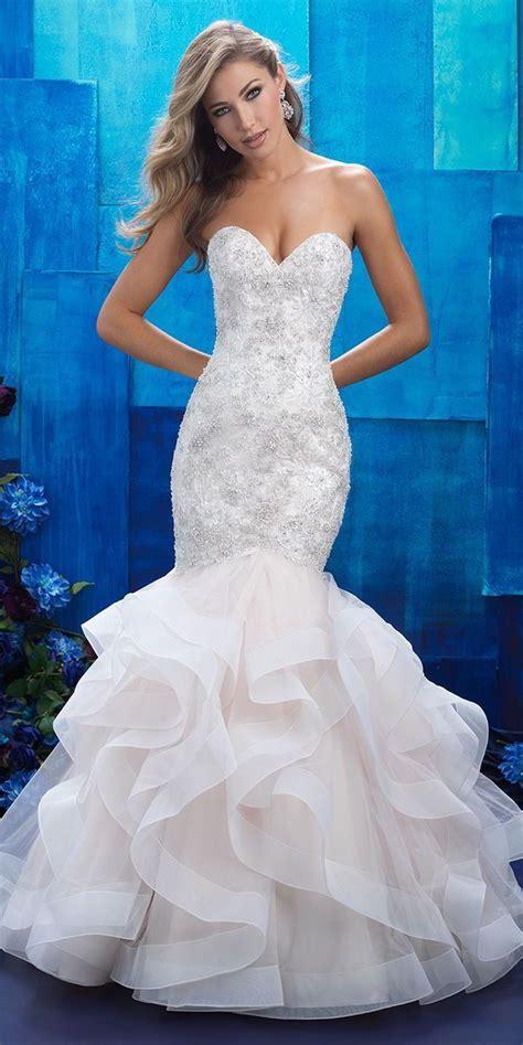 Mermaid Gown bridals 2017 wedding dresses weddings