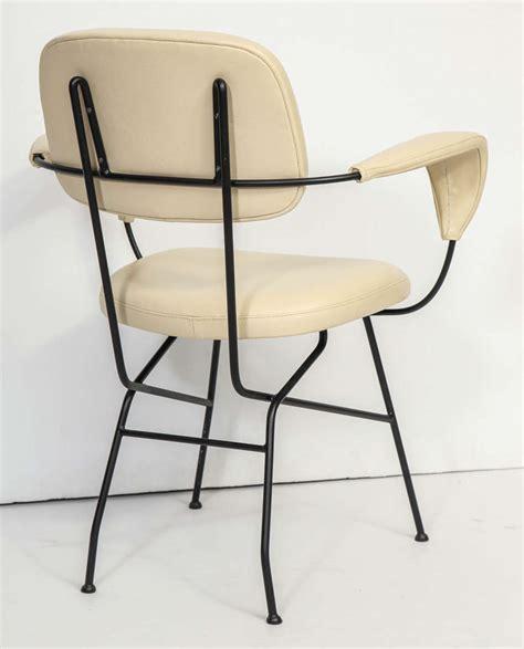 italian leather armchair italian leather and iron armchair for sale at 1stdibs