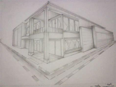 tutorial gambar perspektif 1 titik hilang seni budaya