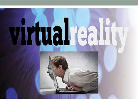 powerpoint templates for virtual reality virtual reality seminar presentation