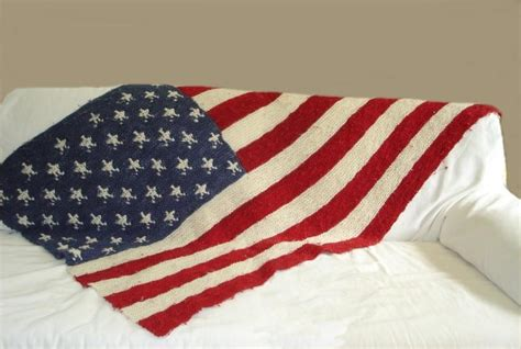who knitted the american flag american flag blanket by vtcayton2516856 craftsy