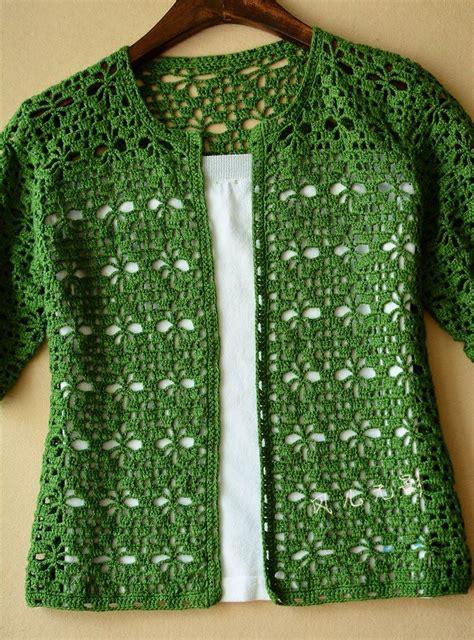 Lace Jacket Green crochet green crochet cardigan crochet free patterns