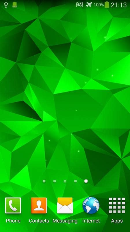 wallpaper live galaxy s5 crystal live wallpaper android apps on google play