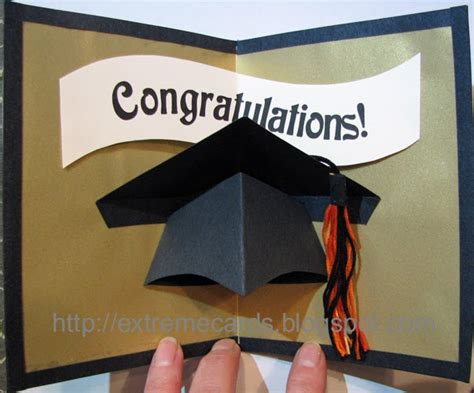 Graduation Photo Card Templates by Graduation Cap Pop Up Card Tutorial