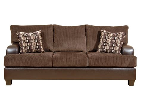 Annabelle Sofa by Serta Upholstery Annabelle Sofa Chocolate Su 6925011 S Homelement