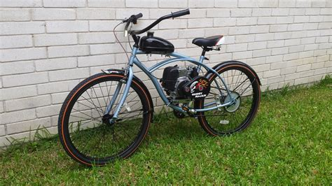All About Bicycle 4 basic 4 stroke motorized cruiser for 900