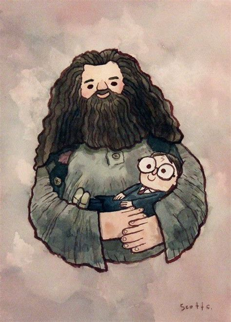 draw drawing draws hagrid harry image 302488 on