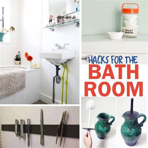 bathroom hacks genius bathroom hacks and tips