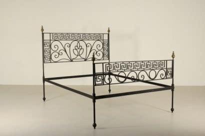 spalliere letto in ferro battuto letto ferro battuto neoclassico