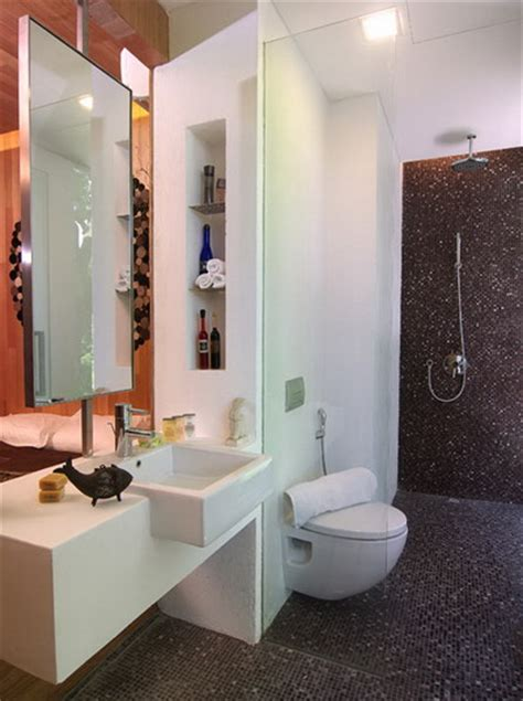 how to decorate a very small bathroom if you want to make bathroom spacious on interior design
