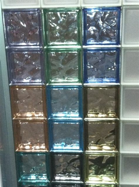 glass block colored glass blocks from seves