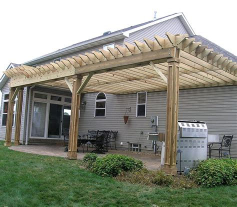 pergola design ideas wood for pergola with custom molding on the posts by elyria fence stylish