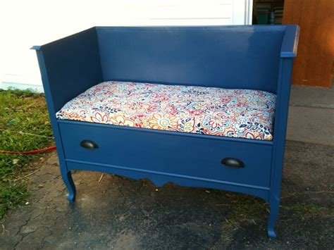 bench made from dresser 17 best images about benches made out of beds on pinterest free baby shower