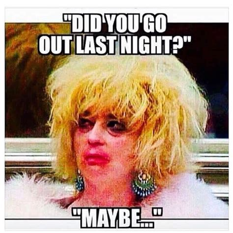 Night Out Meme - hangover night out drunk on instagram