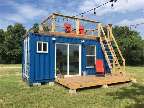 Sleeping Pods by Rustic Retreat Shipping Container Tiny House 29 9k