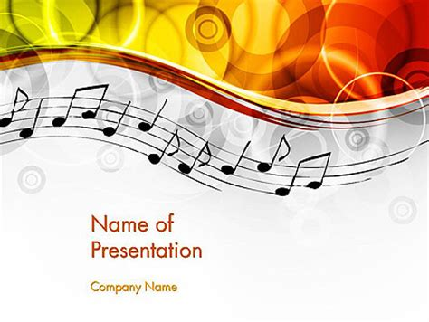 Powerpoint Design Vorlagen Musik And Entertainment Powerpoint Presentation Templates And Backgrounds Poweredtemplate