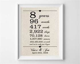 25 best ideas about 8th anniversary on gifts for anniversary gifts for