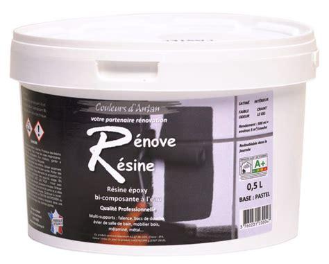renove baignoire r 233 sine color 233 e multisupport renove resine 0 5l id 233 ale