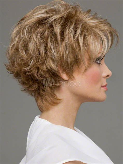 styles for neck length permed hair coupes courtes fris 233 es