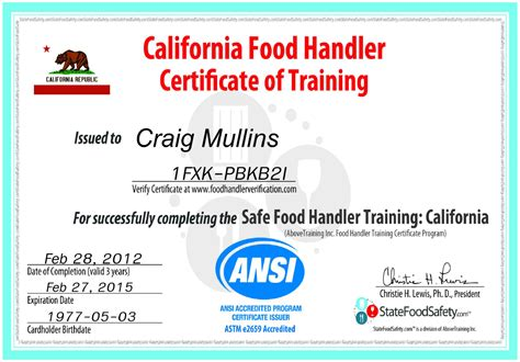 food handlers certificate driverlayer search engine