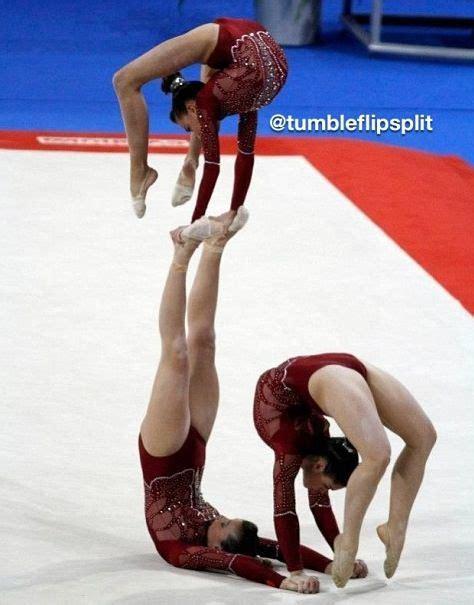 Balenci Sport sports acro gymnastic trio balance