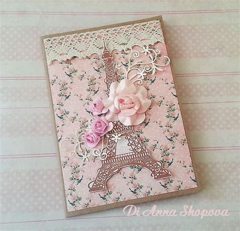 Decorative Cards Handmade - home design decorative handmade shabby chic cards paper