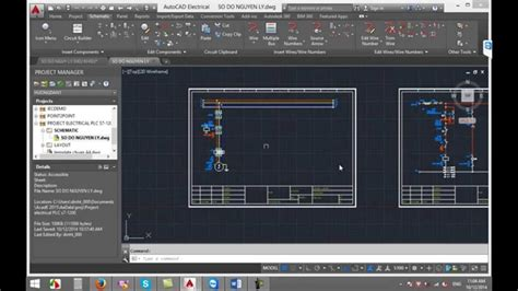 học autocad electrical 2015 youtube