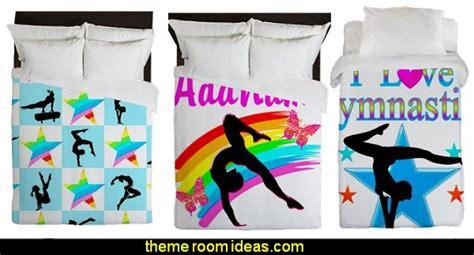 gymnastics bedding decorating theme bedrooms maries manor june 2014