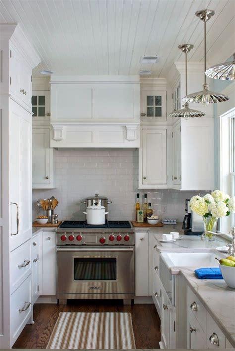 Narrow Galley Kitchen Designed By Liz Firebaugh Of Best Kitchen Lighting For Small Kitchen