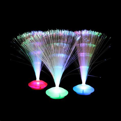 fiber optic ufo party centerpiece glow products canada