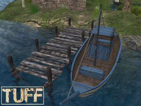 boat dock games second life marketplace tuff fishing boat dock rezzers