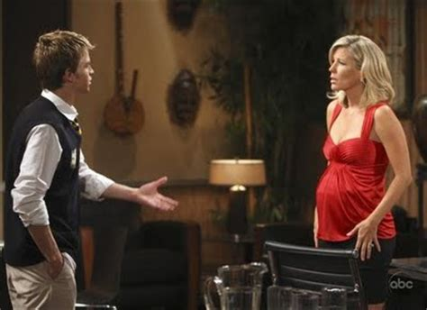 is olivia really pregnant on gh image michael and carlypreggo jpg general hospital