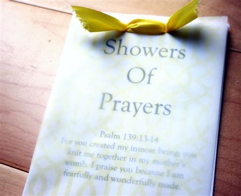 Opening Prayer For Baby Shower by Press Knits Baby Shower Elements