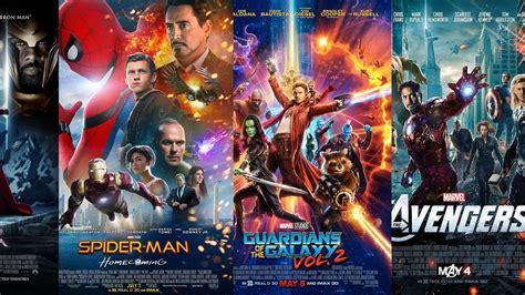 marvel film rankings marvel cinematic universe poster rankings worst to best