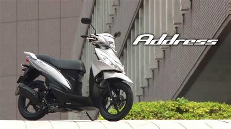 2016 Suzuki Address Fi suzuki address 110 2015 official