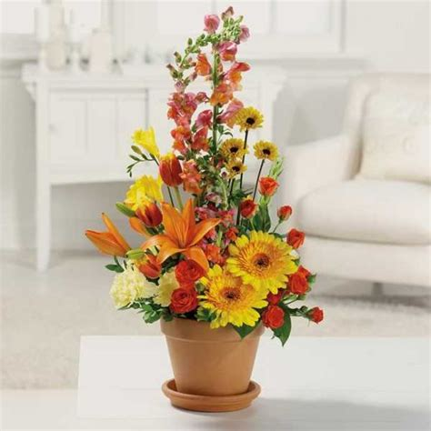 Fall Wedding Flower Arrangement by Flower Arrangements Centerpieces Ideas Wedding