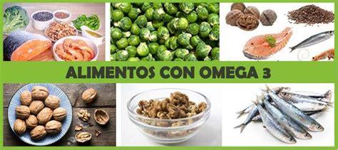 omega 3 alimentos alimentos con omega 3 y su importancia para estar saludables
