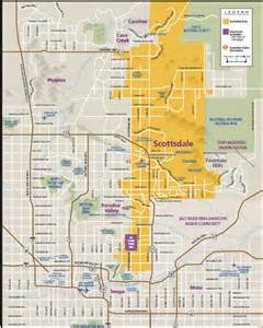 scottsdale map my