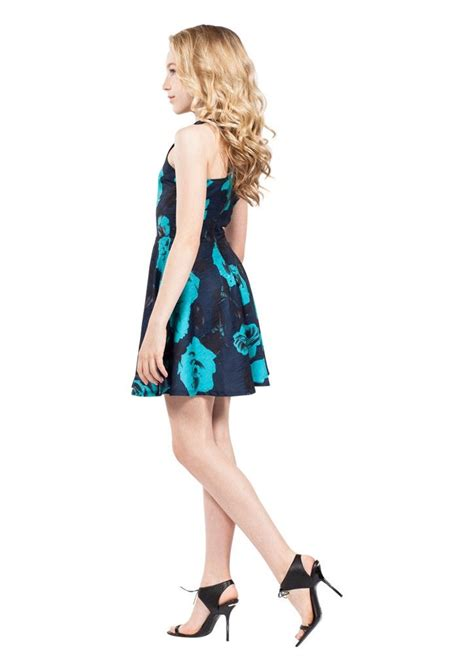 Betty Dress betty navy floral tween dresses missbehavegirls