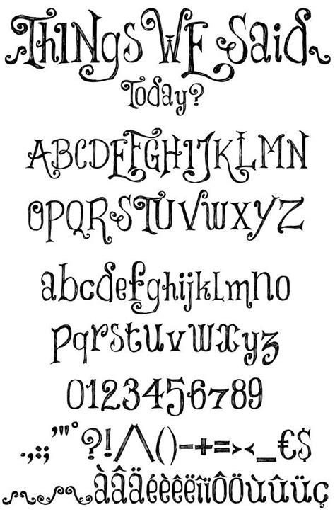 tattoo fonts dafont 20 best letter fonts images on
