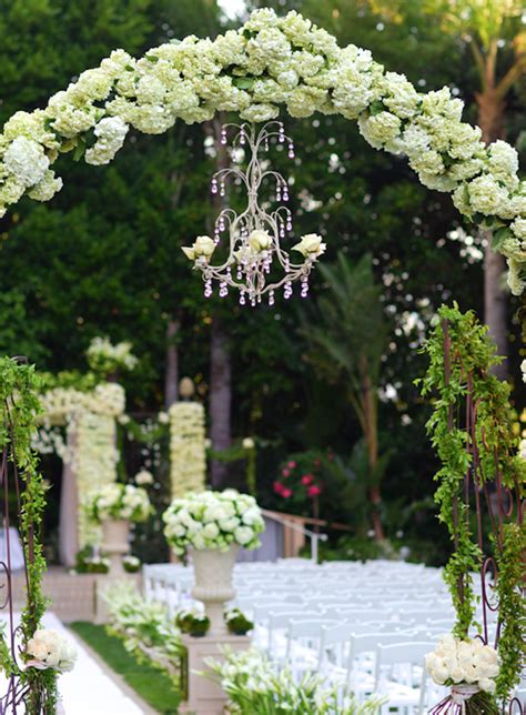 Wedding Arch Chandelier Luxury Wedding Ideas Chandeliers With Fresh Flowers Inside Weddings