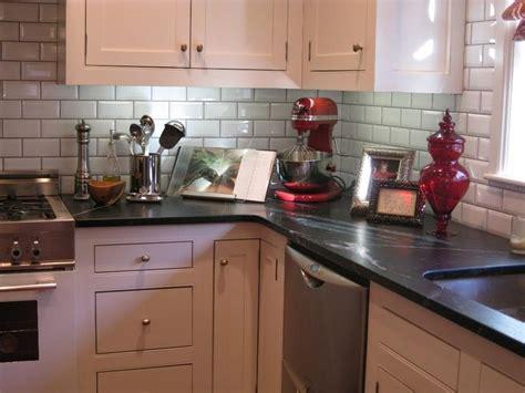 Redoing Kitchen Countertops by Kitchen Formica Basalt Slate White Subway Tile Kitchen