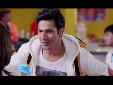 varun dhawan hairstyle in main tera hero varun dhawan does a barfi main tera hero youtube