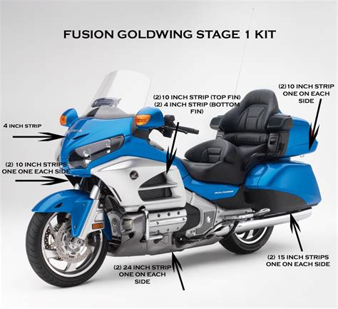 Goldwing Stage 1 Fusion LED Lighting Kit   Customize That Ride
