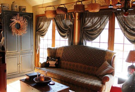 awesome gray curtains primitive style living room and