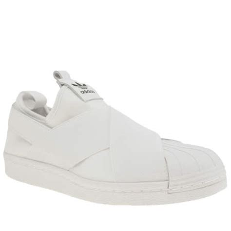 Adidas Superstar Slop White by Womens White Adidas Superstar Slip On Trainers Schuh