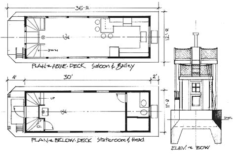 houseboat blueprints 36 drifter houseboat for inland waterways