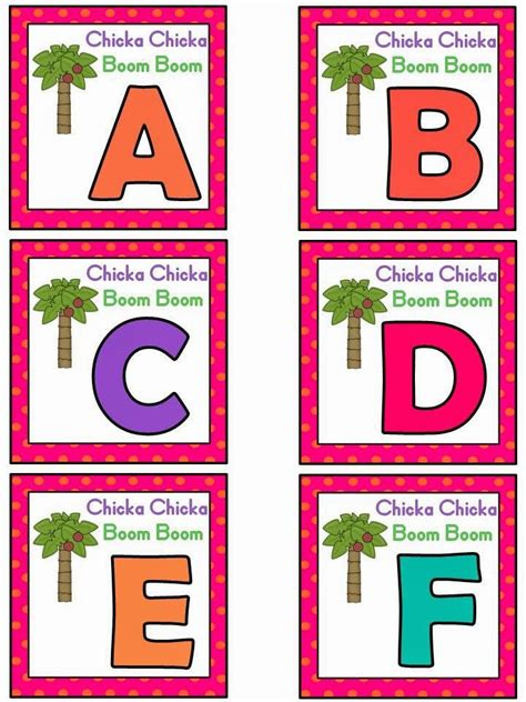 Pdf Chicka Chicka Boom Boom by 655 Best Chicka Chicka Boom Boom Ideas Activities Images